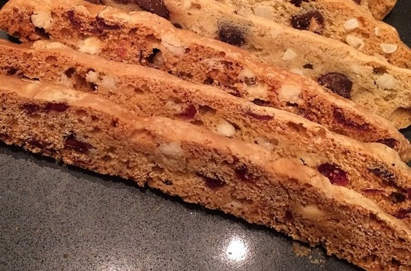 Biscotti- White Chocolate Cranberry