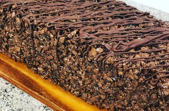 Krispie Cakes - Chocolate