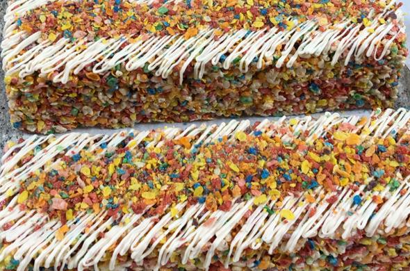 Krispie Cakes - Fruity Pebble