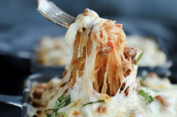Spaghetti Squash Ziti
