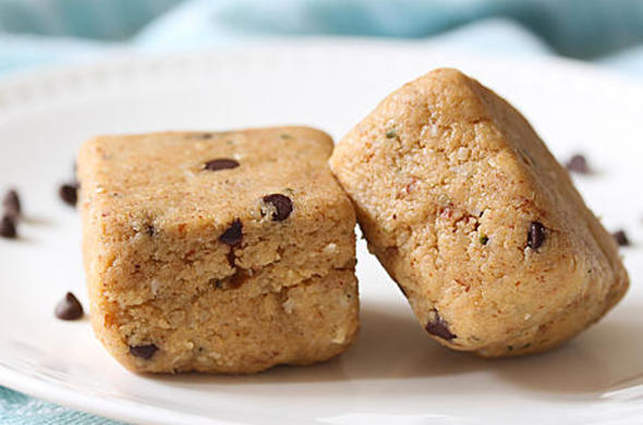Coconut Marzipan Protein Bars