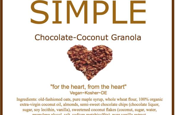 Chocolate-Coconut Granola