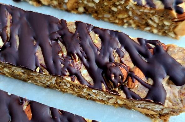 Nutty Granola Bars
