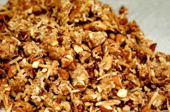 Cluster Granola (Passover)