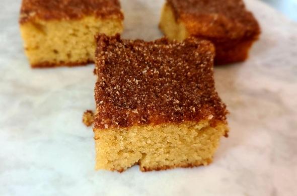 Coffee Cake Squares (Passover)