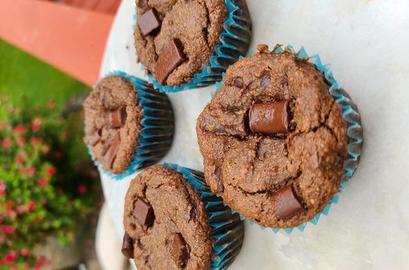 Choc Chunk Muffins