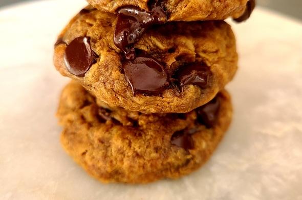 Flourless PB Oat Cookies