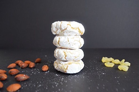 4x Gluten/Dairy Free Moroccan Macarons in a Cube (4 pc/box)