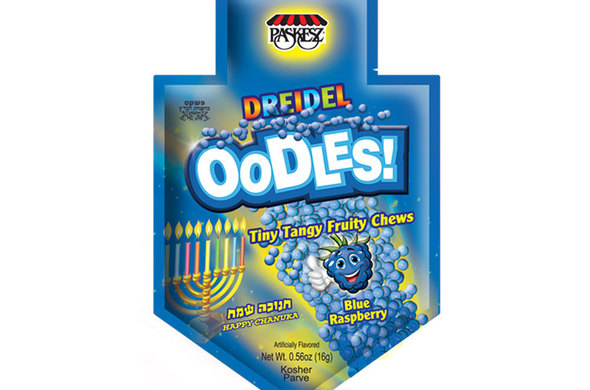 Chanukah Dreidel Oodles (6 pack)