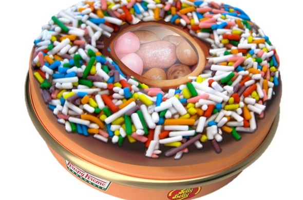 Jelly Belly Krispy Kreme Small Donut Tin