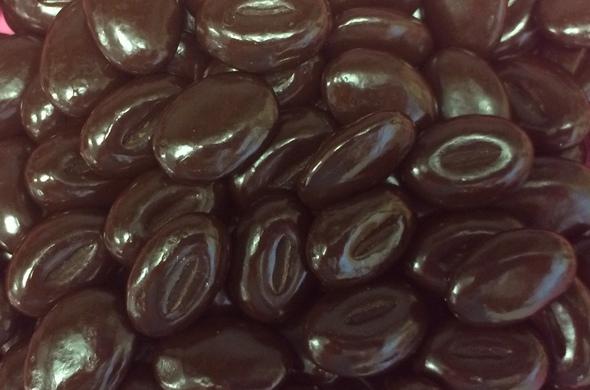 Dark chocolate mocha beans