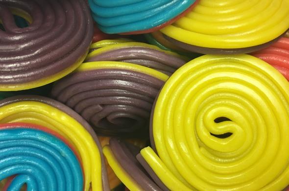 Assorted Licorice Spirals