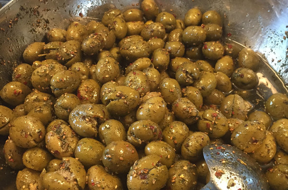 Cured Olives - ZATAAR pint size (Passover)