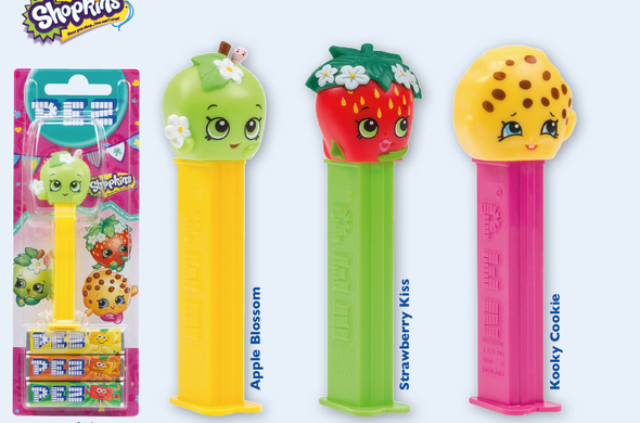 Pez Shopkins Dispenser
