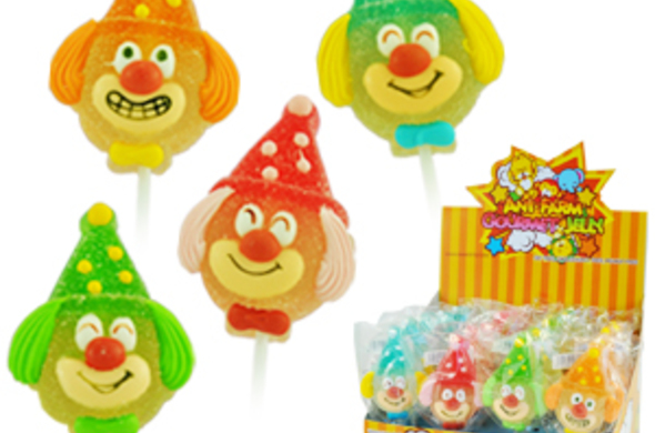 Clown Jelly Pops