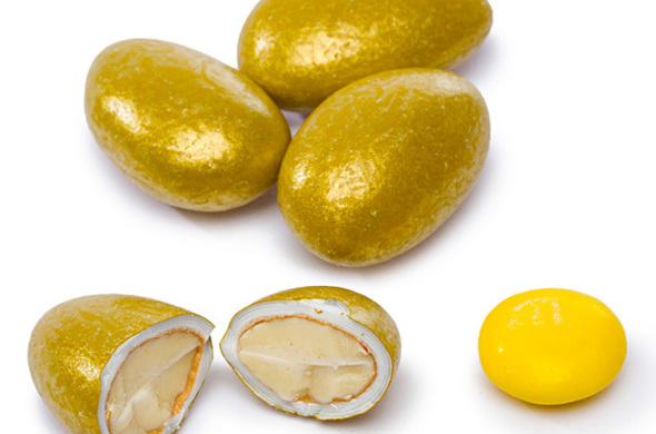 Gold or Silver Jordan Almonds