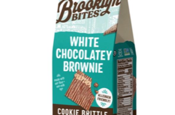 White Chocolatey Brownie Cookie Brittle