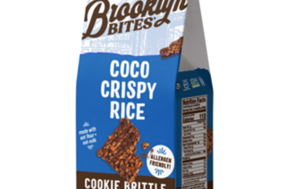 Coco Crispy Rice Cookie Brittle