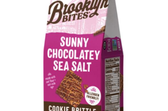 Sunny Chocolatey Sea Salt Cookie Brittle