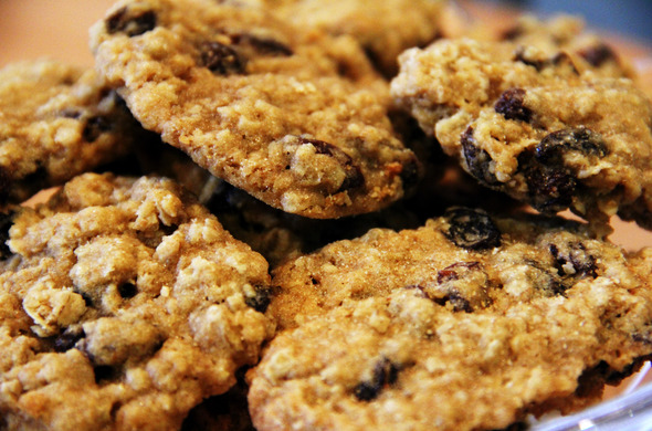 Best Cookies - Oatmeal Raisin