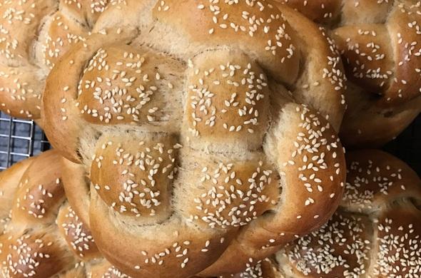 Challah - Whole Wheat