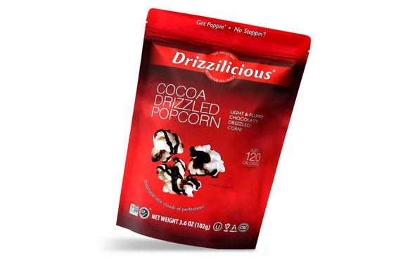 Cocoa Drizzled Popcorn