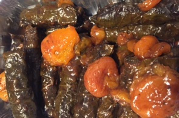 COOKED yebra (meat)