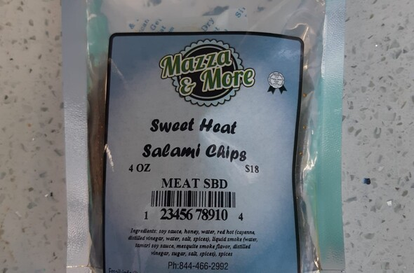 Sweet Heat Salami Chips