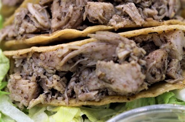 Zaatar Chicken Tacos