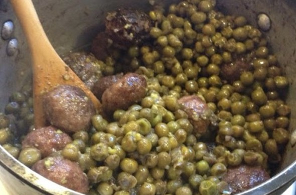 Kibbe Peas