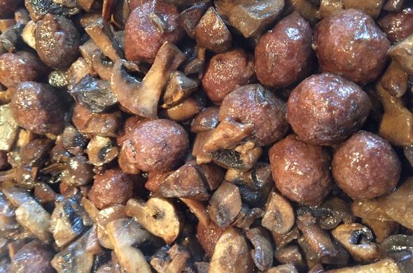 Kibbeh Mushroom Cooked