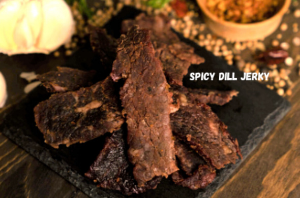 Spicy Dill Whole Muscle Jerky