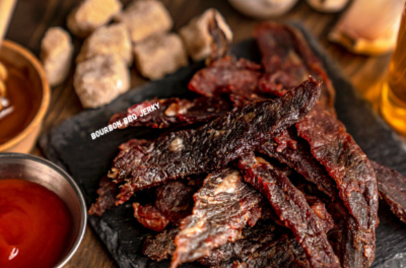 Bourbon Bbq Whole Muscle Jerky