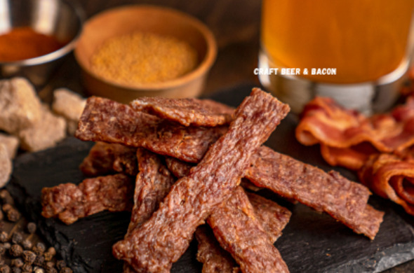 Craft Beer & Bacon Sticks n Strips